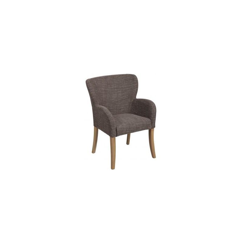 Chaise avec accoudoirs chalon trousseau - Chaise avec accoudoirs ...