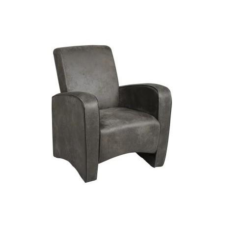 fauteuil club microfibre chalon trousseau. Black Bedroom Furniture Sets. Home Design Ideas