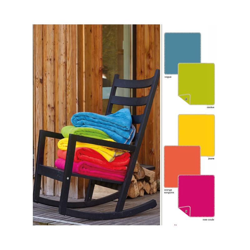 plaid polaire bien au chaud chalon trousseau. Black Bedroom Furniture Sets. Home Design Ideas