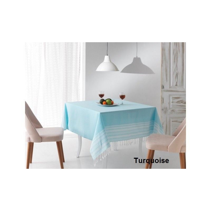 Nappe et chemin de table CARAIBES - Chalon Trousseau