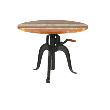 TABLE A CRÉMAILLÈRE