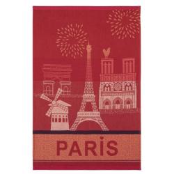 Torchon jacquard PARIS CITY
