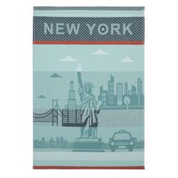 Torchon jacquard NEW YORK CITY