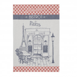 Torchon jacquard AUTHENTIQUE BISTROT