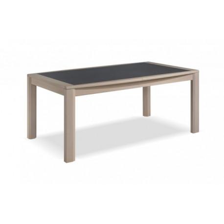TABLE TONNEAU EN 1M80 3 ALLONGES