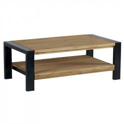 Table basse double plateau LUNTABA 110